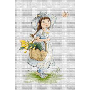 Набор для вышивки крестом Luca-S B1108 Тюльпаны