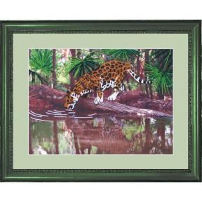 Набор для вышивания бисером Butterfly 551 Леопард