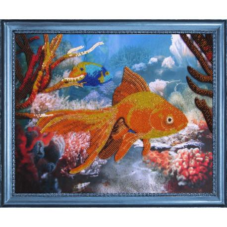 Набор для вышивания бисером Butterfly 556 Рыбка фото