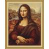 Набор для вышивки крестом Luca-S Мона Лиза B416 фото