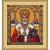 Набор для вышивки крестом Luca-S Святой Николай B421 фото