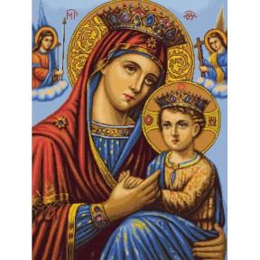Набор для вышивки крестом Luca-S  Икона Божьей Матери B428