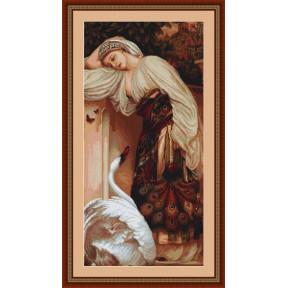 Набор для вышивки крестом Luca-S Одалиска  B430