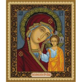 Набор для вышивки крестом Luca-S Казанская Божья Матерь B436