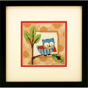 Набор для вышивания гобелена Dimensions 71-07239 Curious Owl