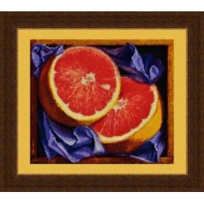 Набор для вышивания крестиком OLanTa VN-001 Грейпфрут фото