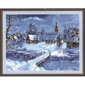 Набор для вышивки гобелена Luca-S  Зимний пейзаж G447