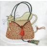Набор для вышивания крестиком Design Works 2728 Leopard Purse