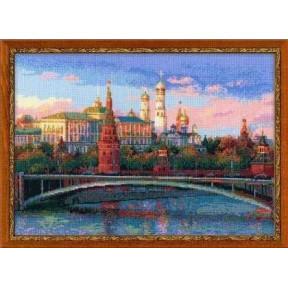 Набор для вышивки крестом Риолис 100/009 Москва фото
