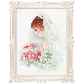 Набор для вышивки крестом Риолис 100/050 Невеста фото