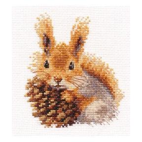 Набор для вышивки крестом Алиса  0-173 Белочка