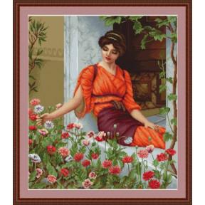 Набор для вышивки гобелена Luca-S  Летние цветы G474