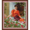 Набор для вышивки гобелена Luca-S Летние цветы G474 фото