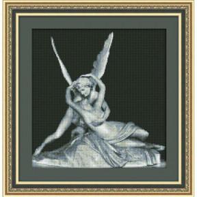Набор для вышивки крестом Юнона 0101 Амур и Психея фото