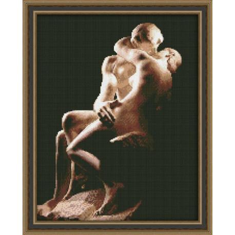 Набор для вышивки крестом Юнона 0117 Поцелуй фото