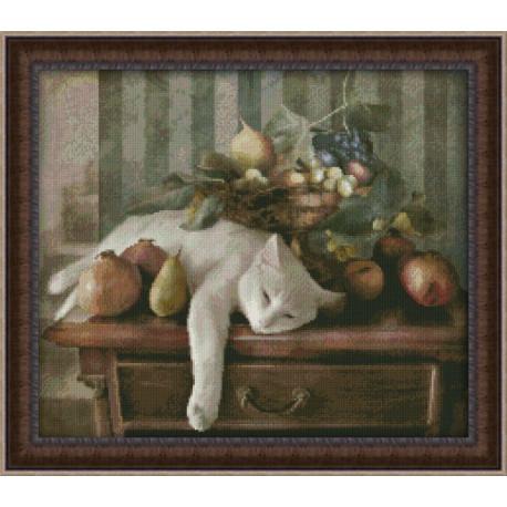 Набор для вышивки крестом Юнона 0123 Сладкий сон фото