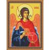 Набор для вышивки крестом Юнона 0201 Архангел Михаил фото