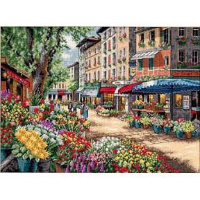 Набор для вышивки крестом Dimensions 35256 Paris Market