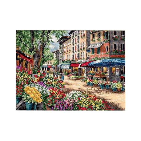 Набор для вышивки крестом Dimensions 35256 Paris Market фото
