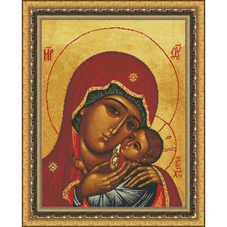 Набор для вышивки крестом Юнона 0203 Богородица Касперовская