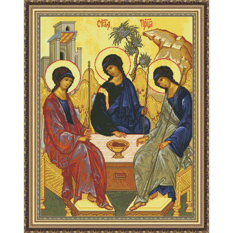 Набор для вышивки крестом Юнона 0210 Троица фото