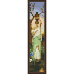 Набор для вышивки крестом Юнона 0302 Женщина с кувшином