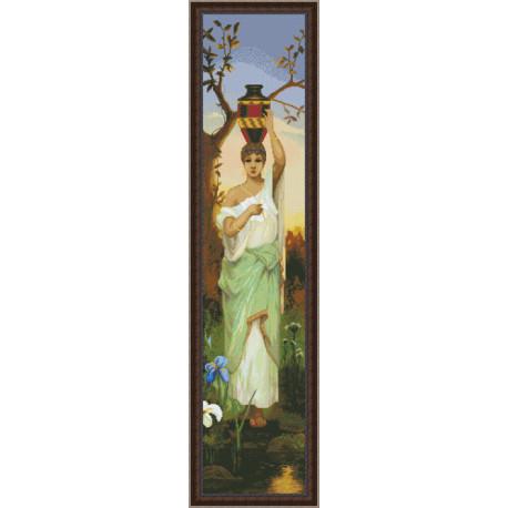 Набор для вышивки крестом Юнона 0302 Женщина с кувшином фото