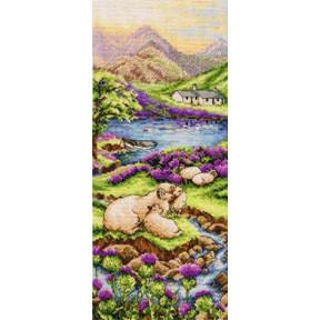 Набор для вышивания Anchor PCE0816  Highlands Landscape/Высокогорье