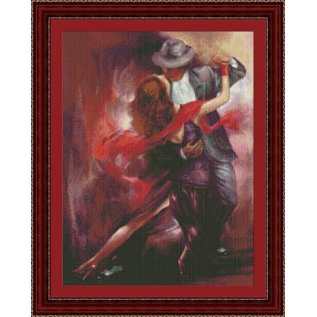 Набор для вышивки крестом Юнона 0402 Танго EL Choclo фото