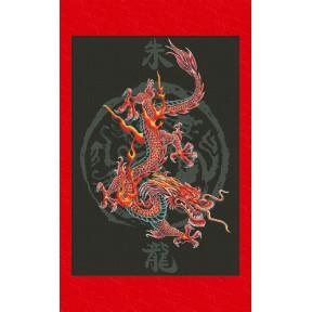 Набор для вышивки крестом Юнона 0403 Царь драконов