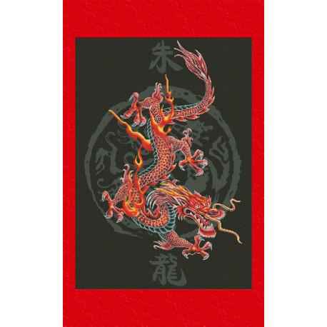 Набор для вышивки крестом Юнона 0403 Царь драконов фото