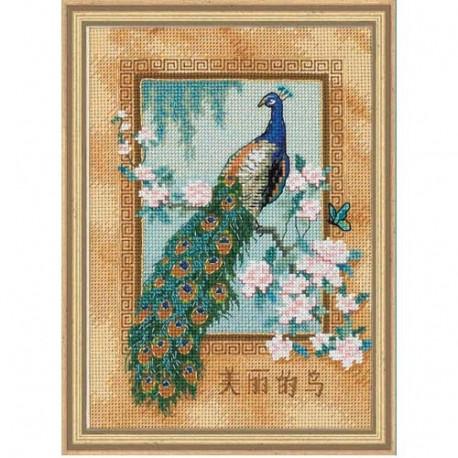 Набор для вышивки крестом Dimensions 06870 Beautiful Bird фото