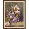 Набор для вышивки крестом Юнона 0205 Весенний букет фото
