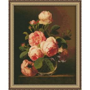 Набор для вышивки крестом Юнона 0120 Розы