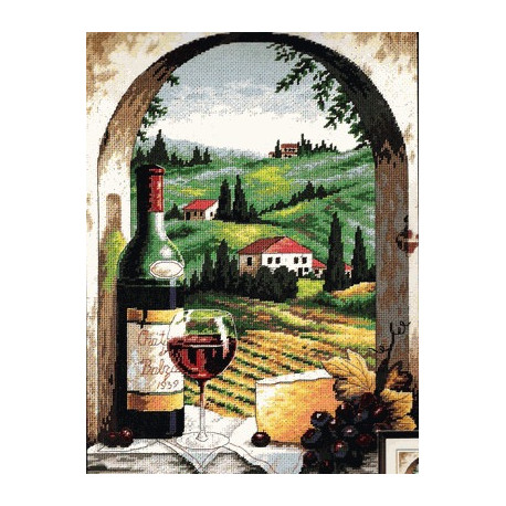 Набор для вышивания гобеленом Dimensions 20054 Tuscan Viev фото