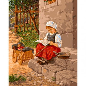Набор для вышивания гобелен  Goblenset G473 Папино письмо