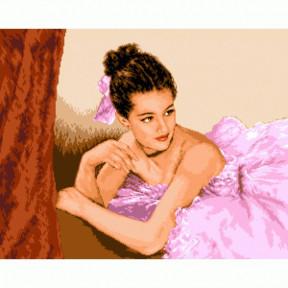 Набор для вышивания гобелен  Goblenset G745 Прекрасная балерина