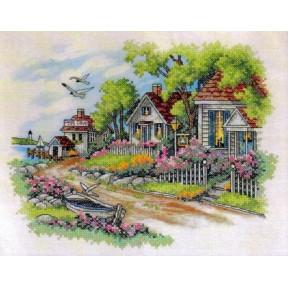 Набор для вышивания Dimensions  03240 Cottage by the Sea
