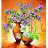Схема для вышивания бисером Абрис Арт АС-003 Весенние цветы фото