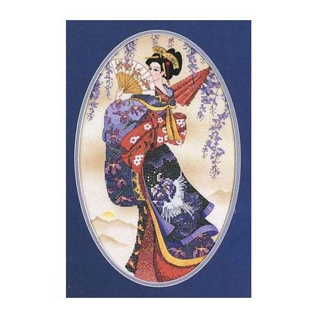 Набор для вышивания Dimensions 13099 Splendor of the Orient фото