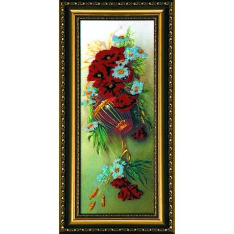 Набор для вышивания бисером Абрис Арт АВ-001 Полевые цветы фото
