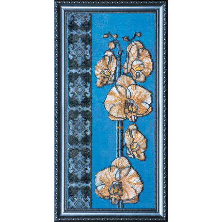 Набор для вышивания бисером Абрис Арт АВ-101 Орхидеи-2 фото