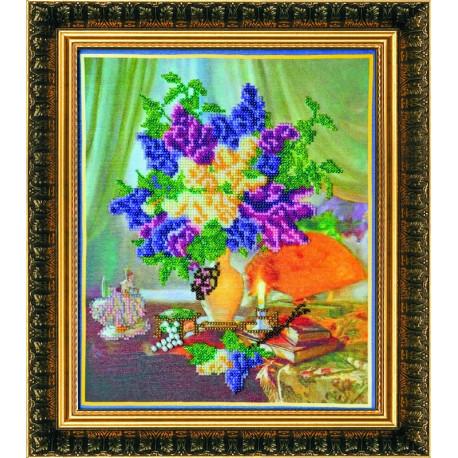 Набор для вышивания бисером Абрис Арт АВ-043 Этюд фото
