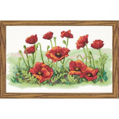 Набор для вышивания Dimensions 03237 Field of Poppies фото