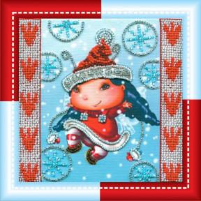 Набор для вышивания Абрис Арт АМ-017 Рождественский эльф