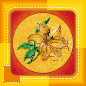 Набор для вышивания бисером Абрис Арт АМ-005 Лилия