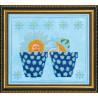 Набор для вышивания бисером Абрис Арт АВ-058 Близнецы фото