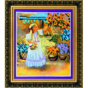 Набор для вышивания Абрис Арт АВ-037 Маленькая цветочница