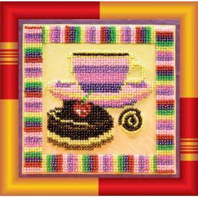 Набор для вышивания бисером Абрис Арт АВ-129 Шоколадница