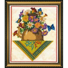 Набор для вышивания бисером Абрис Арт АВ-095 Букет